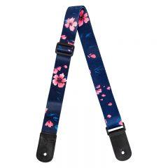 Flight S35 Polyester Ukulele Strap - Sakura w/headstock strap tie