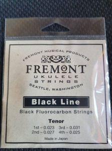 Fremont Black Line Fluorocarbon Strings Set of 4 Tenor High G