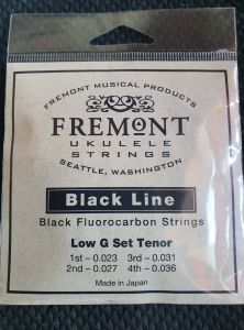 Fremont Black Line Fluorocarbon Strings GCEA Tenor Low G