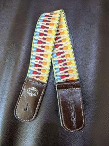 Isuzi UKLL-50 Premium Colour Pattern Cotton Ukulele Strap