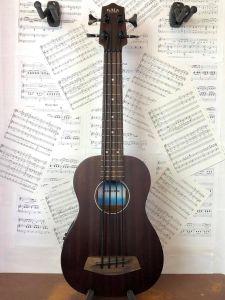 USED Kala UBASS Rumbler Electro Acoustic Bass Ukulele with Gigbag