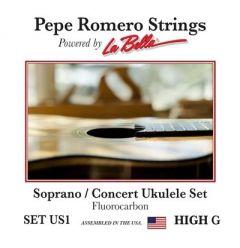 Pepe Romero US1 Soprano High G Fluorocarbon Ukulele Strings