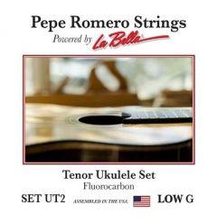 Pepe Romero UT2 Fluorocarbon Tenor Low G Ukulele Strings