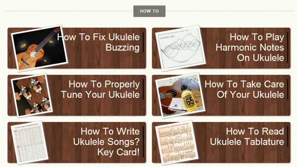 ukulele guides